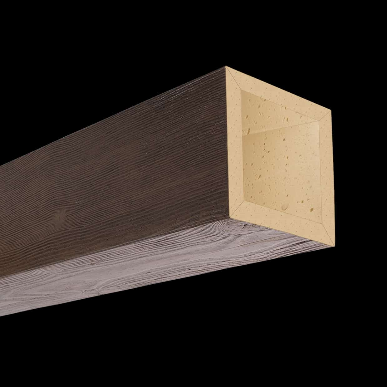 Faux Wood Ceiling Beam 4SBA - Douglas Fir - Dark Walnut