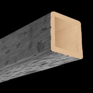 Faux Wood Ceiling Beam 4SBA - Tuscany - Gray