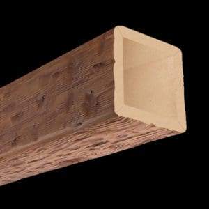 Faux Wood Ceiling Beam 4SBA - Tuscany - Oak