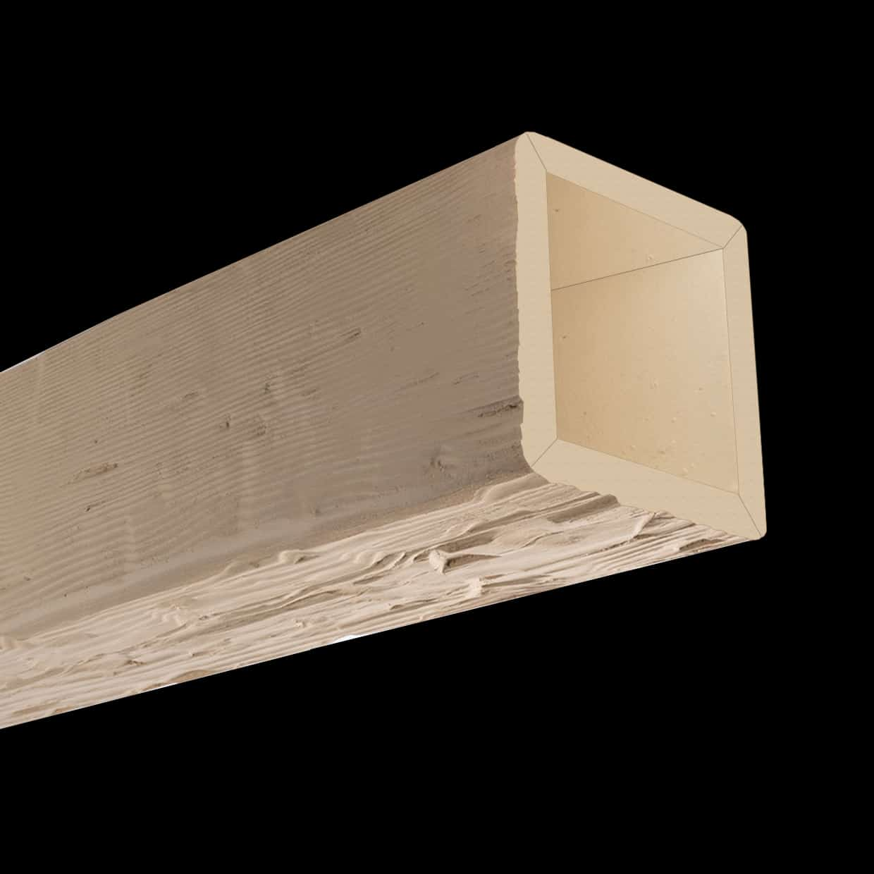 Faux Wood Ceiling Beam 4SBA - Tuscany - Primed