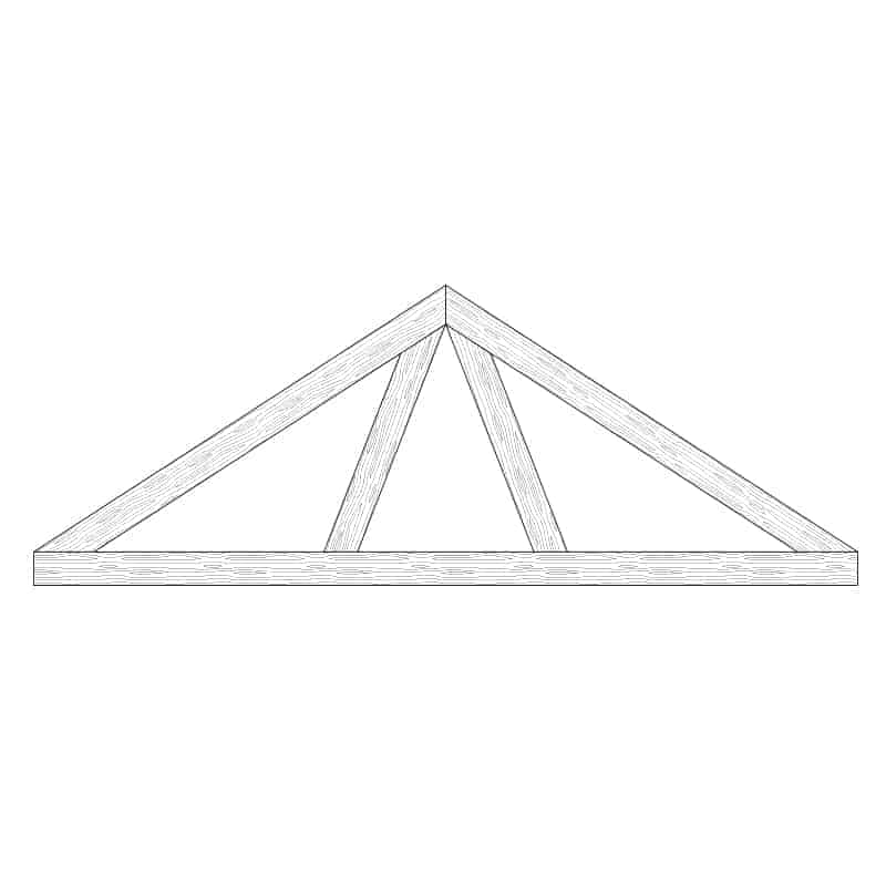 Faux Wood Ceiling Beam Truss - E1-CC-D00(c)