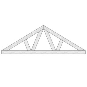 Faux Wood Ceiling Beam Truss - E1-CC-D00(d)