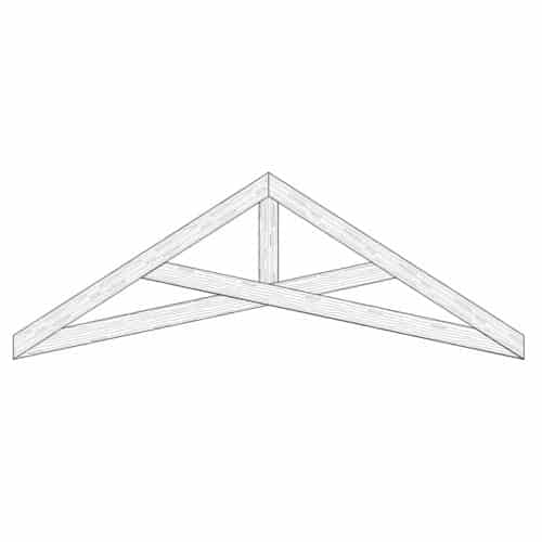Faux Wood Ceiling Beam Truss - E1-SC-D01(a)