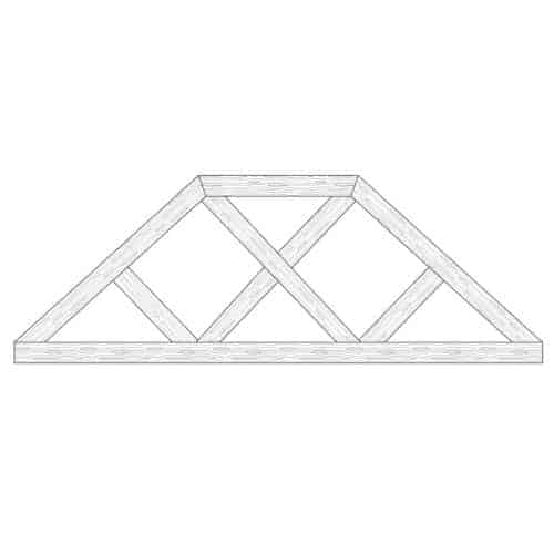 Faux Wood Ceiling Beam Truss - E2-CC-D00(f)