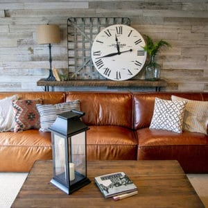 Wood Ceiling & Wall Planks - Reclaimed Distillery - Distilled White - Installed (1)