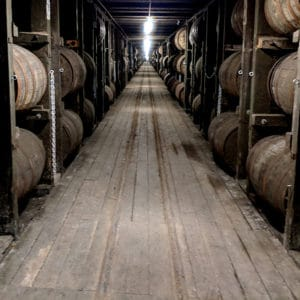Wood Ceiling & Wall Planks - Reclaimed Distillery Wood - Whiskey Warehouse
