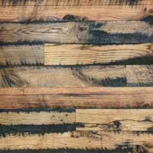 Wood Ceiling & Wall Planks - Reclaimed Oak Fence - Pre-Finished (1)