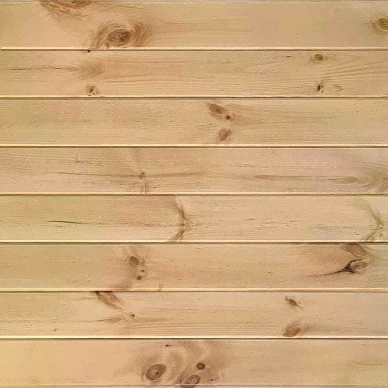 Ceiling & Wall Planks | Pine T&G V-Groove - Candlelight