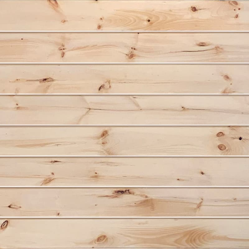 Ceiling & Wall Planks | Pine T&G V-Groove - Natural Clear Coat