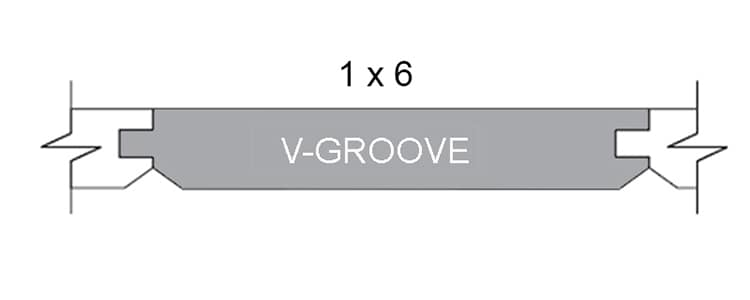 wood tongue and groove v groove planks