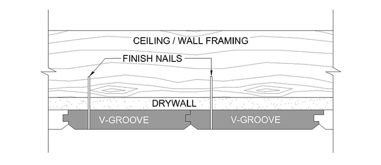 How to Install T&G V-Groove Planks