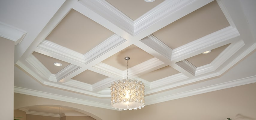 Tilton Coffered Ceiling Treatments