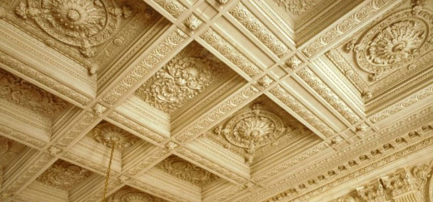 What is the Origin of Coffered Ceilings?