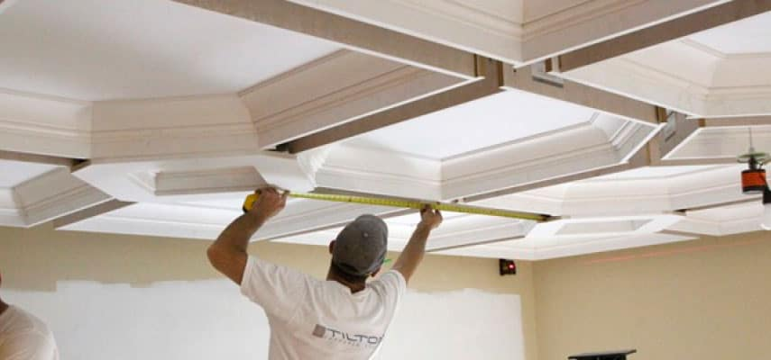 Why Installing a Coffered Ceiling Makes Sense Today