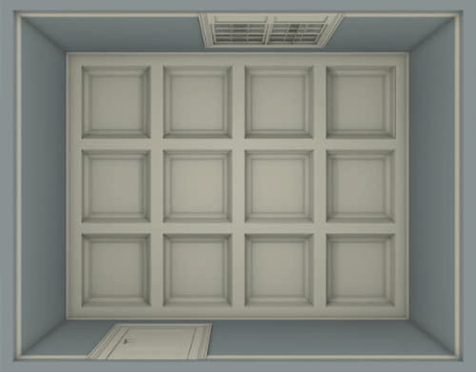 How to Install a Coffered Ceiling - Step 3