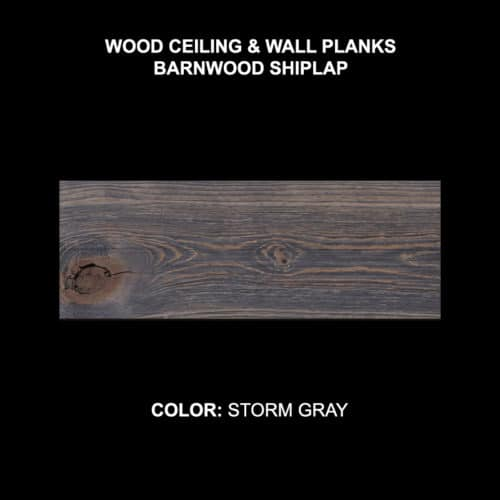 Barnwood Shiplap - Storm Gray Sample