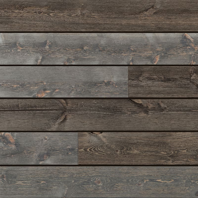 Ceiling & Wall Planks | Barnwood Shiplap - Frontier Blend
