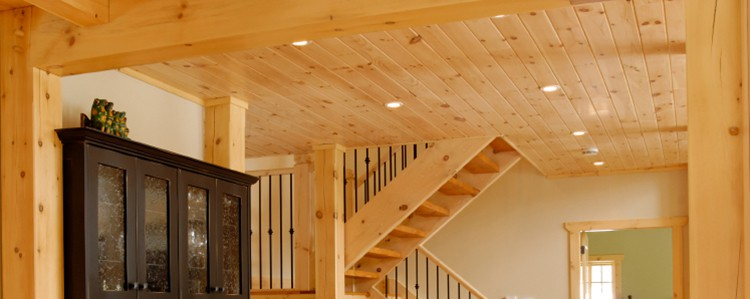 ceiling and wall planks