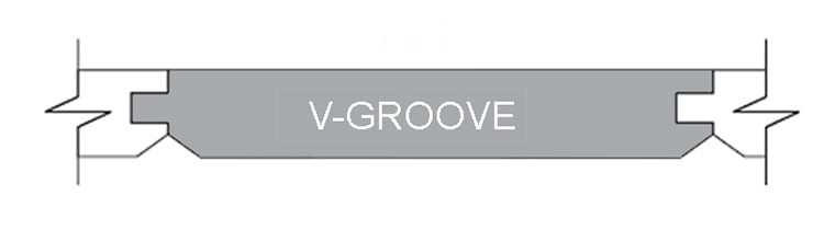 Wood T&G V Groove Planks