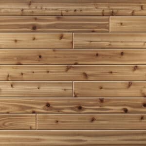 Knotty Cedar T&G V-Groove - Natural Clear Coat - 'Quick-Lock'
