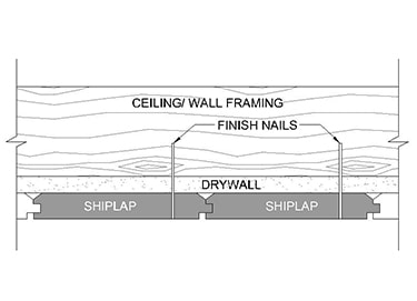 How to Install MDF Shiplap Planks