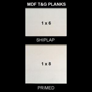 MDF T&G Shiplap - Sample Kit