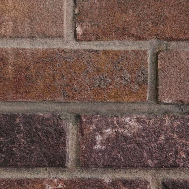 MDF Ceiling & Wall Planks - Faux Brick - Brownstone
