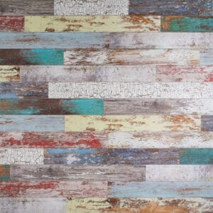 MDF Ceiling & Wall Planks - Faux Wood - Distressed Paint