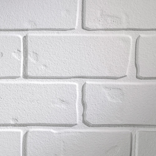 MDF Ceiling & Wall Planks - Faux Brick - White