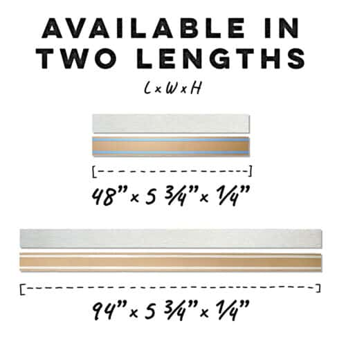 MDF Ceiling & Wall Planks - Lengths