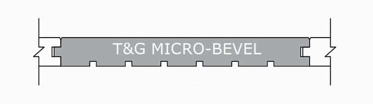 Micro-Bevel T&G Profile