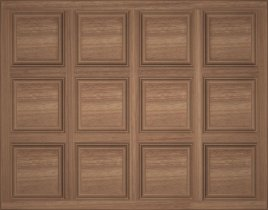 Stain Grade Coffered Ceiling