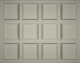 Primed Coffered Ceiling