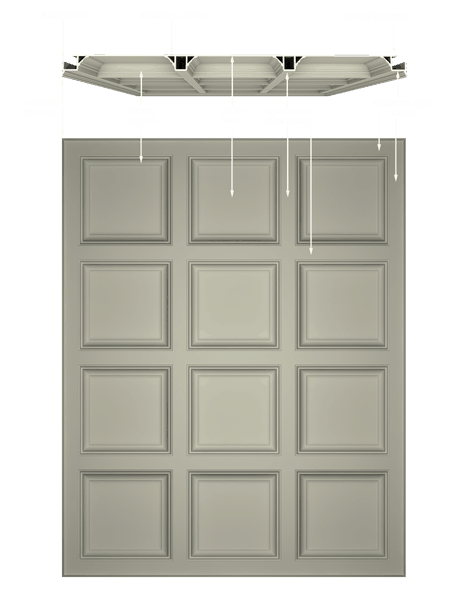 The Anatomy of the Tilton Coffered Ceiling System