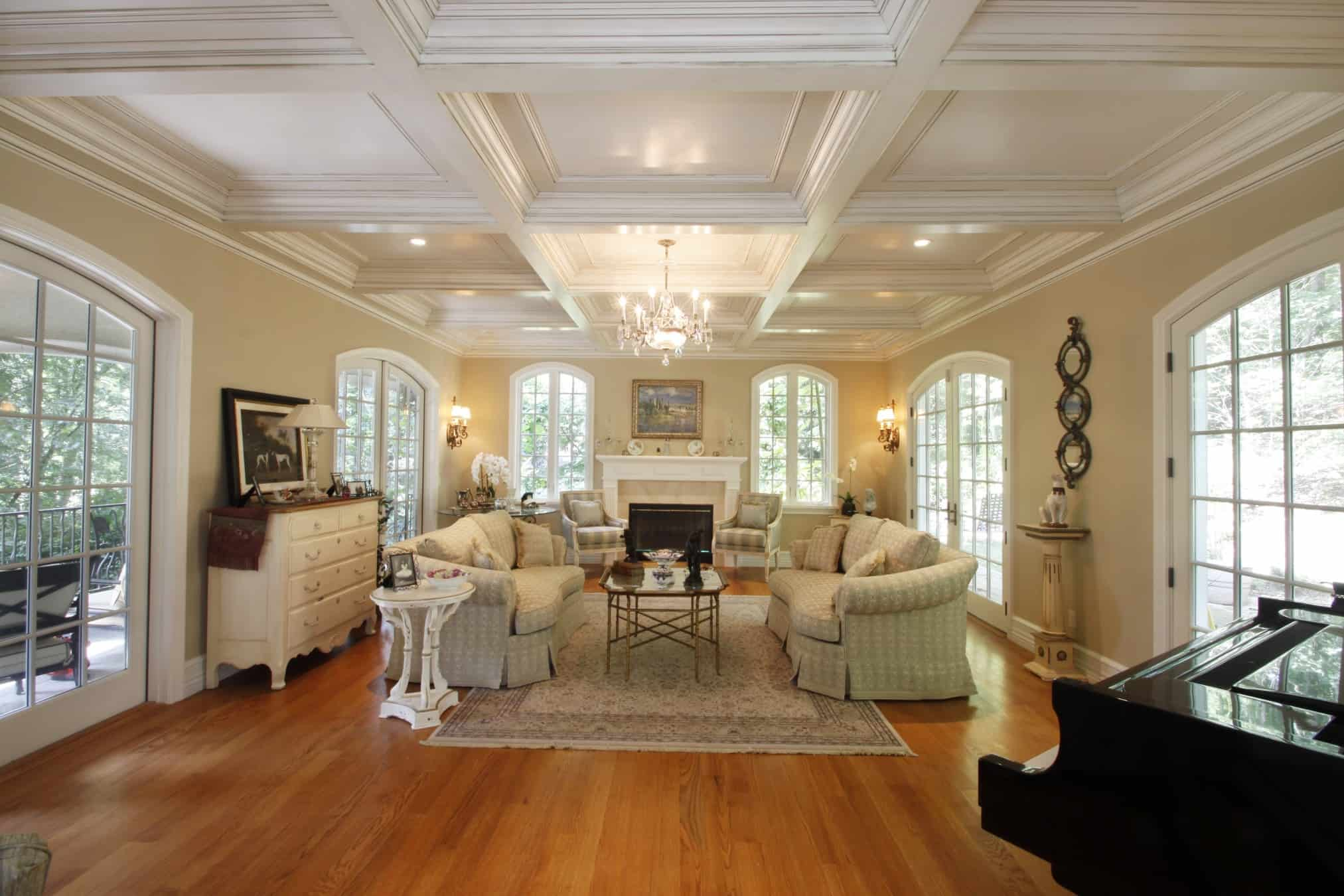 Tilton Coffered Ceilings