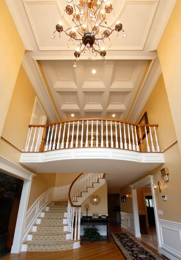False ceiling designs luxury ceiling design images for Coffered ceiling styles